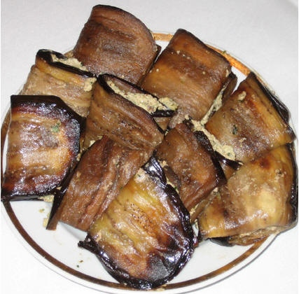 Баклажаны с орехами от Irisochka