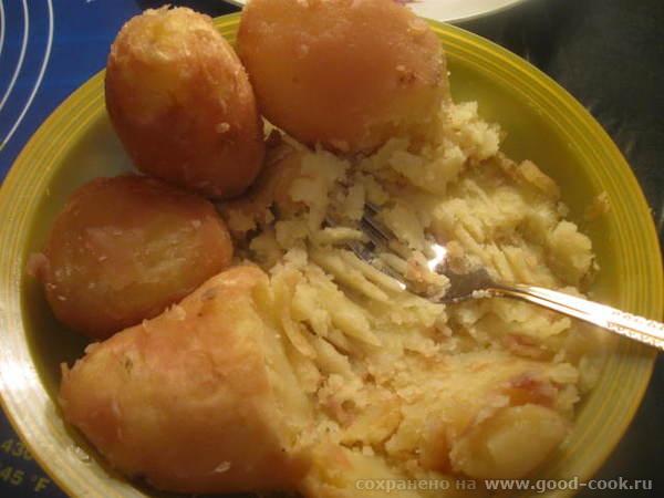 Превращаем картофель в пюре
