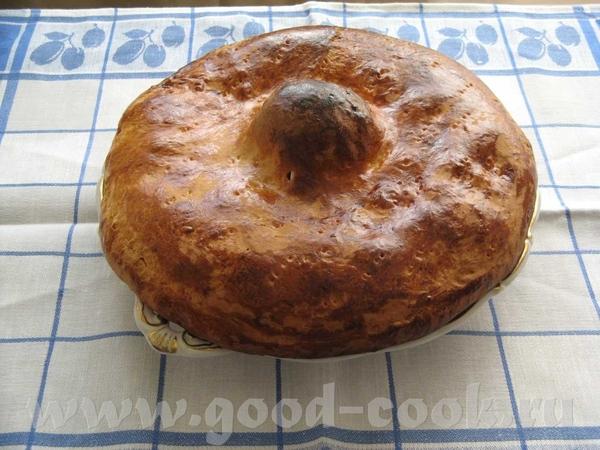 "Пирог ягодный ""Лесной"" Мука-3 стакана сметана -1 стакан яйца - 2 масло топленое- 0,5 стакана сода-..."