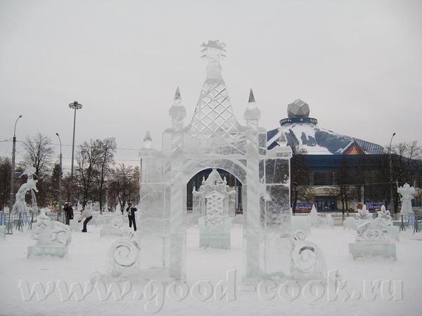 у нас это не конкурс, у нас это просто традиция - ежегодно делать ледяные городки, Сибирь, однако В...