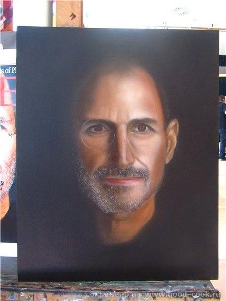 Техника создания портрета (мастер класс у М - 6