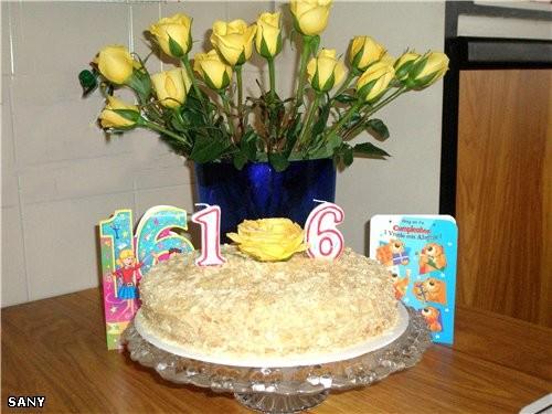 """А на сладкое был """"НАПОЛЕОН"""" а это роза с торта"""