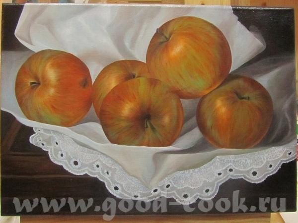 """Поэтапные """"Яблоки"""" от Светланы"""
