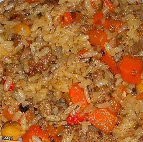 Плов «Фьюжн» Состав: рис «Иберика» 0,5кг; масло растительное 0,15л; бараний жир 0,1-0,07кг; фарш го... - 7