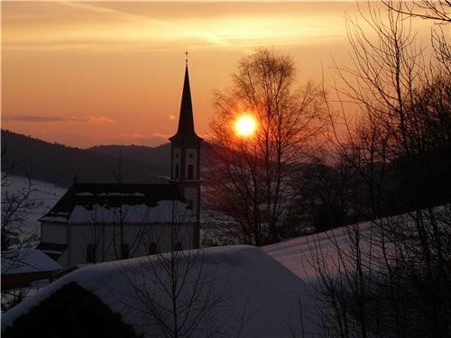 Закат солнца - 4