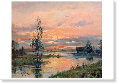 Юлий Клевер - русский живописец - 3