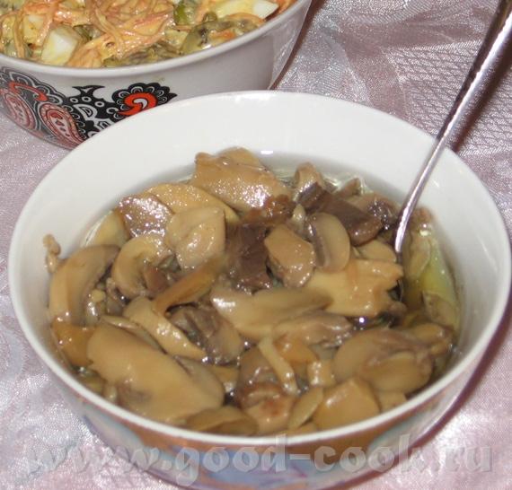 Маринованые грибы Гранат и фарш - 2