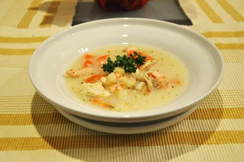 мылом не наешься, а вот супом вполне даже не было у нас картофеля, заменила его корнем сельдерея, с...