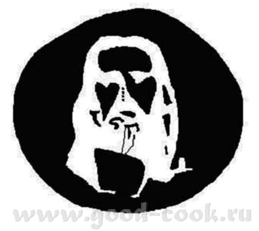 Перевернем предыдущую картинку… Это мужчина с саксофоном или женщина в тени - 10