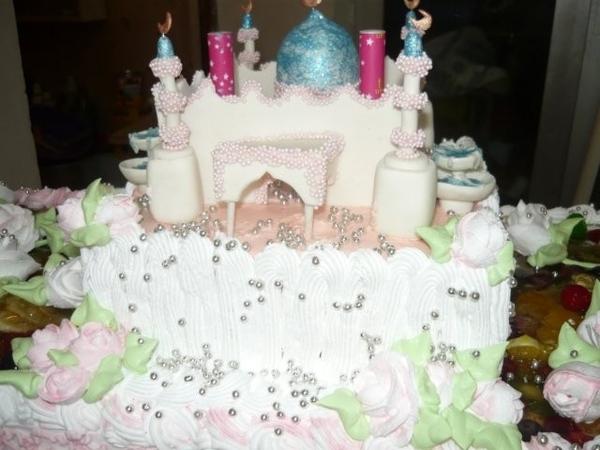 свадебный торт мечеть