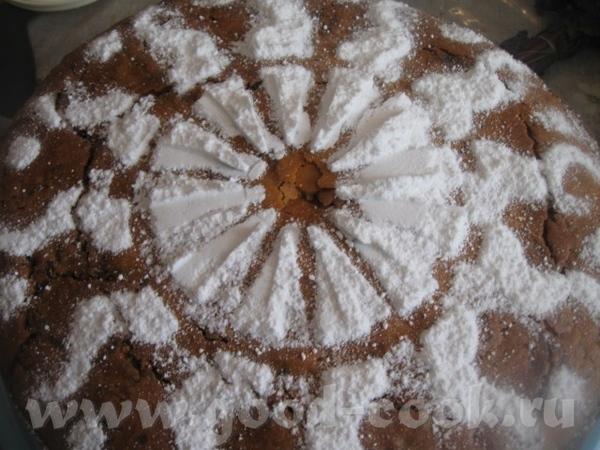 По желанию, посыпаем сверху сахарной пудрой (я это делаю при помощи «Чародейки»)– она не будет лишн... - 2