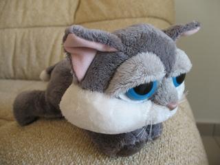 Эта кошка очень грустная, как я перед тем, как ее купила