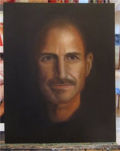 Техника создания портрета (мастер класс у М - 4