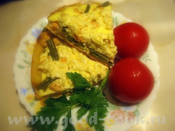 Пирог с лососем и спаржей Пирог основан на рецепте Датского пирога с красной рыбой на немецкий мане... - 2