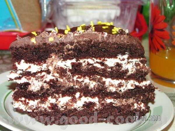Шоколад на кипятке Мультиварка у меня всего несколько дней, решила испечь тортик - 2