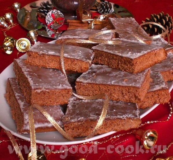 Lebkuchen Пряничный пирог Для противня с бортиками 33х37см Ароматный и вкусный, настоящий Рождестве... - 3