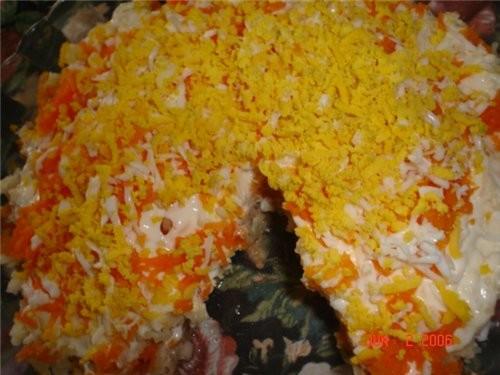 Недорогие салаты на день рождения фото