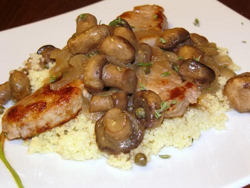 Приготовленные по этому рецепту грибы можно использовать как соус к курице, белой рыбе или свинине,...