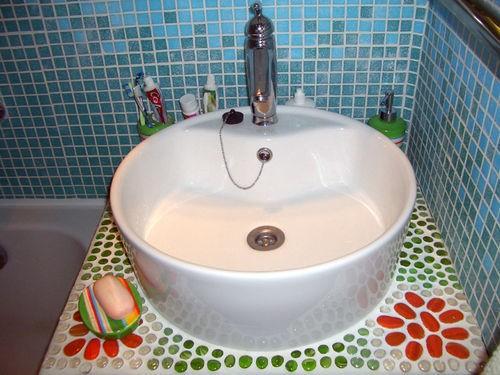 Закончили ремонт кухни недавно,и вот вчера ремонт в ванной,теперь начнем ремонт в коридоре - 3