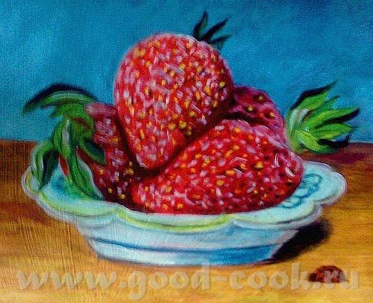 Ой, умничка, как красиво прорисовала и ягодки, и листики, ням-ням - 2