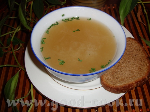 У меня 4 разных рецепта чесночного супа