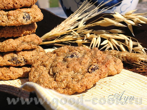 Хочу поделиться с вами одним из моих любимых печений, которое делается из цельнозерновой муки и овс...