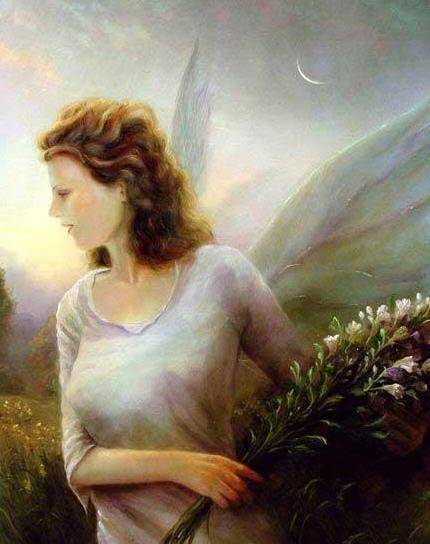 вот вам ангелы: сначала мой любимый: авторов не знаю, но я их для себя сохраняла - 4