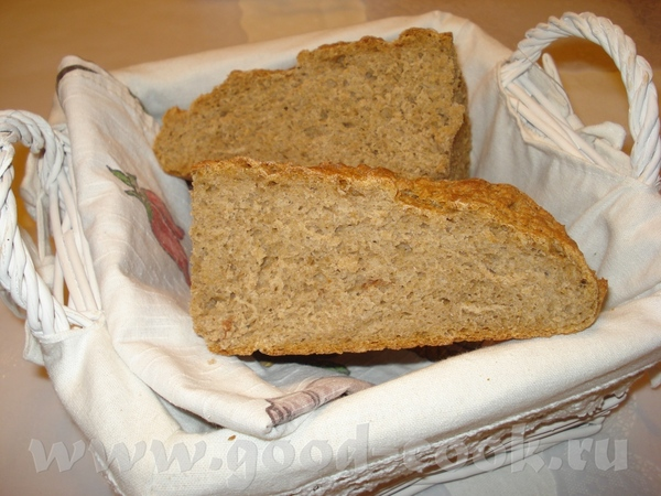 но из ржаной муки хлеб у меня тоже плыл
