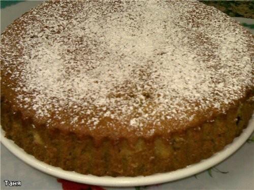 Пирог яблочный Пай с яблоками и смородиновым вареньем Грушевый пирог Пирог с бананми и сливами - 6