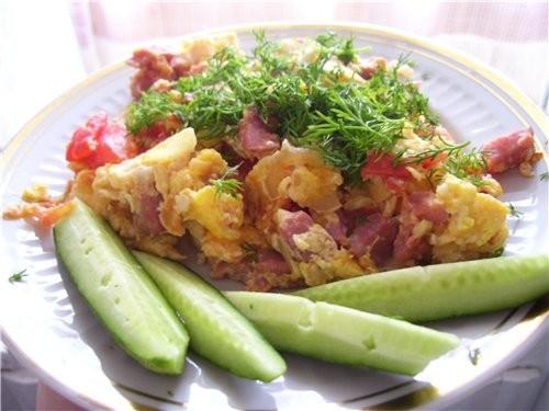 Наш любимый завтрак - это яйца в различном виде