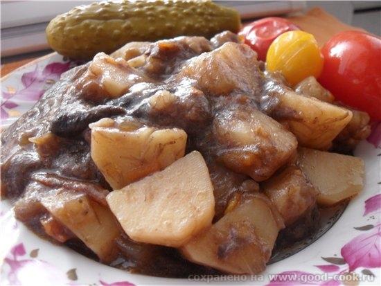 Сырники из творога Муги Тушеный картофель с грибами Вареники с картофелем - 3