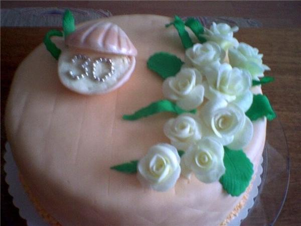 Привет всем Мой тортик