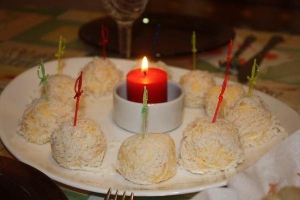 Девочки, вот еще угощений немного Ананас Рафаэлло Матканаш Курица в апельсиновом соусе по трецепту... - 2