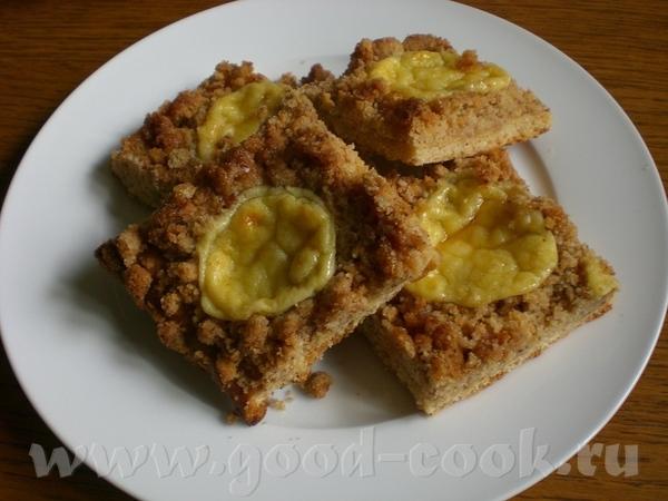 Zwieback-Streusel-Kuchen Пирог со штройзелем из сладких сухариков - 2