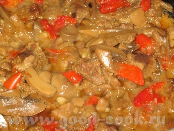 "Жареная картошка Мясо с грибами ""Зимний вечер"" от Emerald - 5"