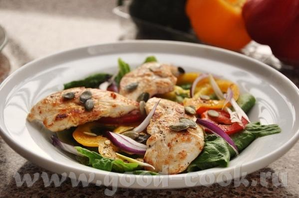 такие салаты выручают не только в случаи диеты, но и если едоков больше, нежели оставшегося куриног...