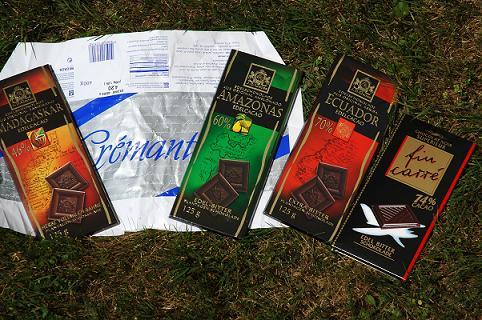 ну раз такое пошло, тогда делись, какой тебе шоколад нравится, я тоже поробовать хочу