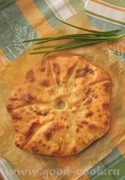 Критские пирожки с сыром или мясом Осетинский пирог с зеленью - 3