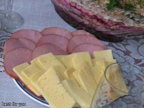 Вареники с картошкой и с капустой Оливки Нарезка Фаршированная щука Ребрышки, запечённые в фольге К... - 3