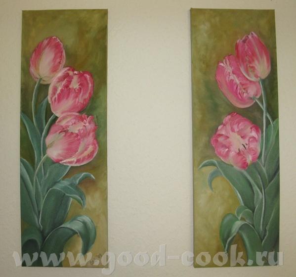 А это мои прошлогодние тюльпаны,я их кажется не показывала - 2
