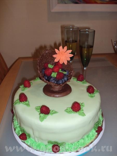 а вот мои фантазии на тему самого вкусного торта в мире, мастика кривовата, но это один из моих пер... - 2