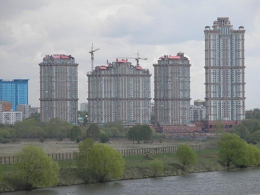 """Жилой комплекс """"Аллые паруса"""" в Москве"""