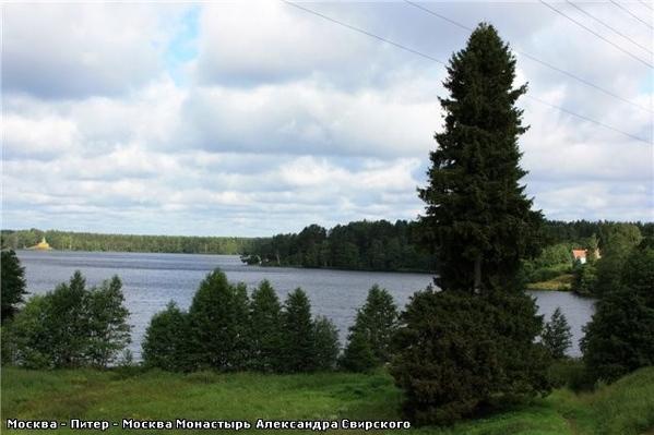 А вот такое там небо … Рощинское озеро Развалины монастырской пекарни, которая, кстати, снабжала хл... - 2