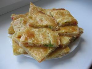 Хлебцы с творогом и изюмом