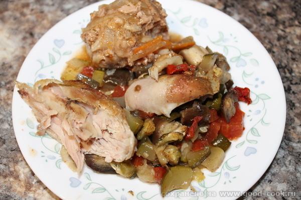 овощи тущеные в духовке