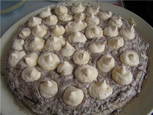Очень вкусный торт, правда не самый быстрый в приготовлении, но результат того стоит - 2