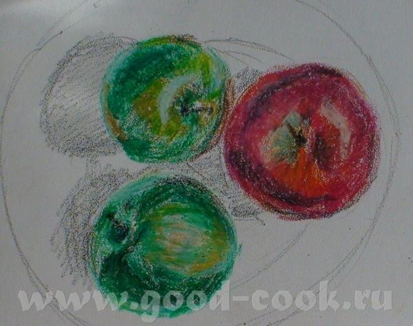 чашечки и кувшинчики такая целая серия видела в переходе на Октябрьской на узких длинных холстах, т... - 3
