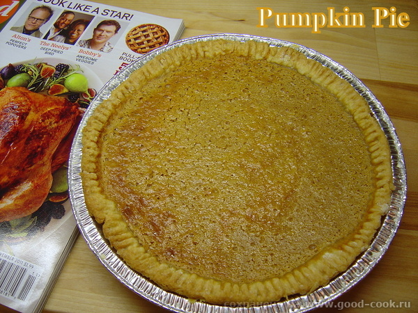 Американский тыквенный пирог(Pumpkin Pie).