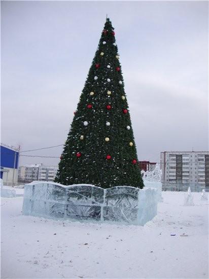 немножко красоты ледовой сюда поставлю рыбка желаний ледовая катушка вот и еще один новогодний праз... - 4