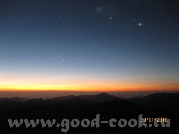ну и конечно самым главным впечатлением было паломничество на гору Моисея - 3